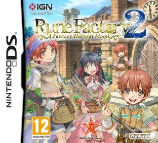 Rune Factory 2: A Fantasy Harvest Moon til DS