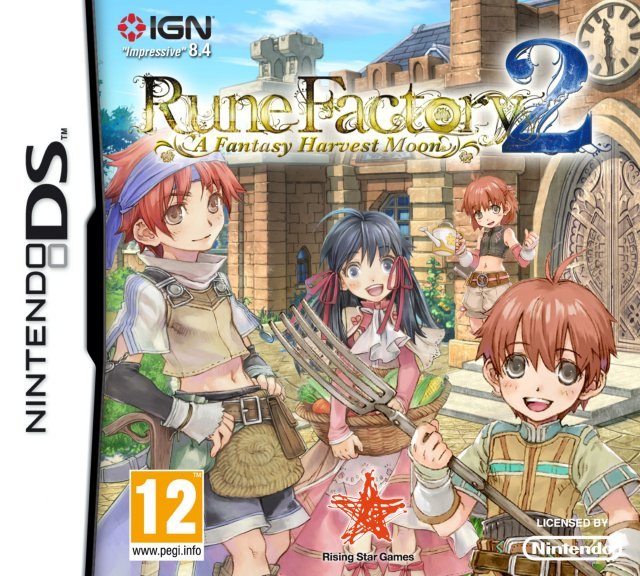 Rune Factory 2: A Fantasy Harvest Moon til DS