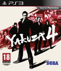 Yakuza 4 til PlayStation 3