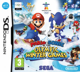 Mario & Sonic at the Olympic Winter Games til DS