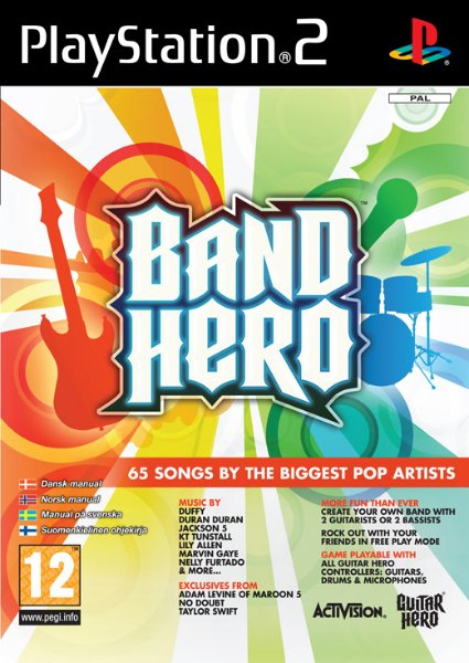 Band Hero til PlayStation 2