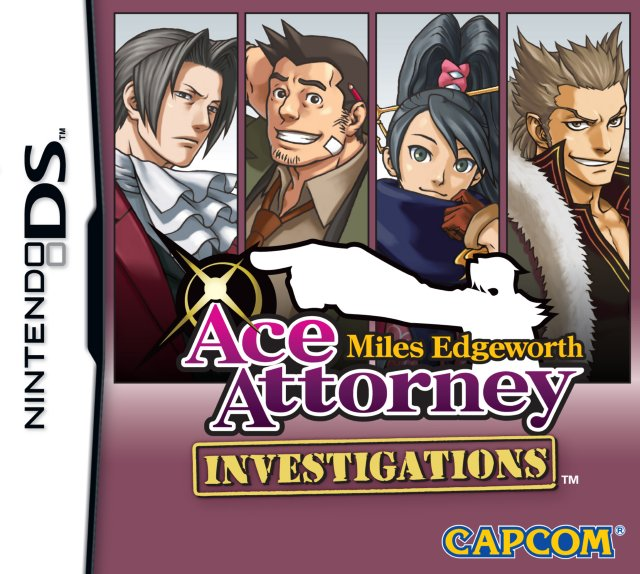 Ace Attorney Investigations: Miles Edgeworth til DS