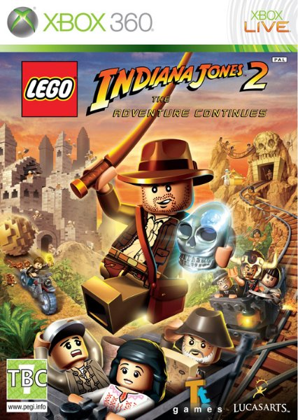Lego Indiana Jones 2: The Adventure Continues til Xbox 360
