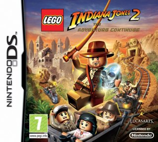 Lego Indiana Jones 2: The Adventure Continues til DS