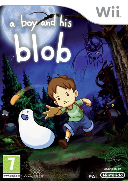 A Boy and His Blob til Wii