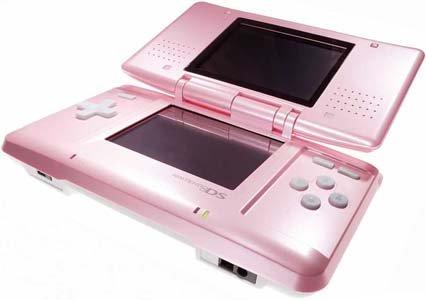 Nintendo DS rosa