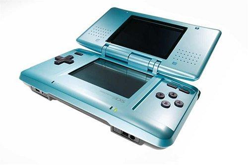 Nintendo DS lyseblå