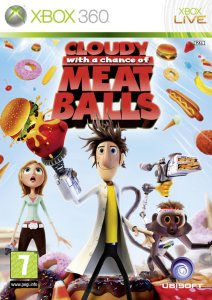 Cloudy with a Chance of Meatballs til Xbox 360