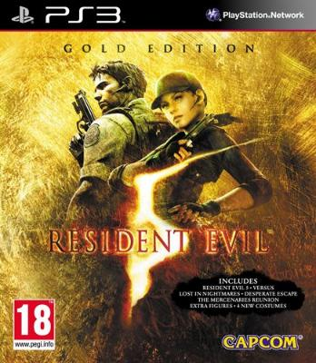 Resident Evil 5: Gold Edition til PlayStation 3