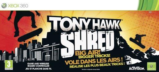 Tony Hawk: Shred til Xbox 360