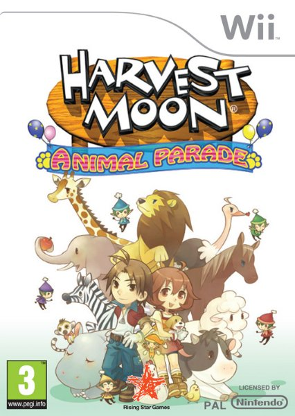 Harvest Moon: Animal Parade til Wii