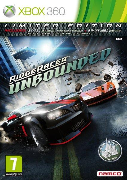 Ridge Racer Unbounded til Xbox 360