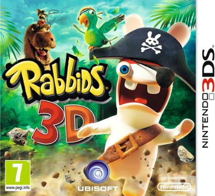 Rabbids 3D til 3DS