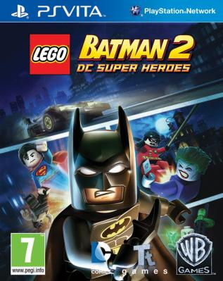 LEGO Batman 2: DC Super Heroes  til Playstation Vita