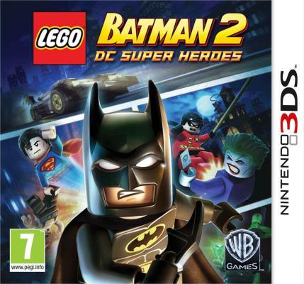 LEGO Batman 2: DC Super Heroes  til 3DS