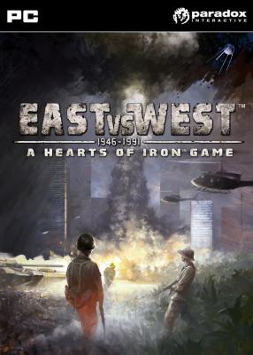 East vs. West: A Hearts of Iron Game til PC
