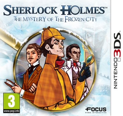 Sherlock Holmes and the Mystery of the Frozen City til 3DS