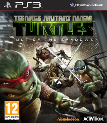 Teenage Mutant Ninja Turtles: Out of the Shadows til PlayStation 3