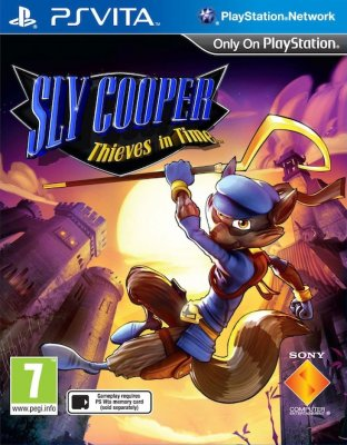Sly Cooper: Thieves in Time til Playstation Vita