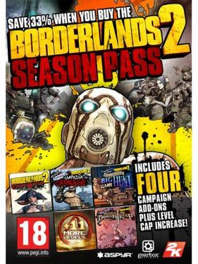 Borderlands 2 Season Pass til Mac