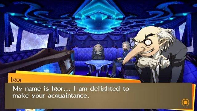 Persona 4: Golden til Playstation Vita