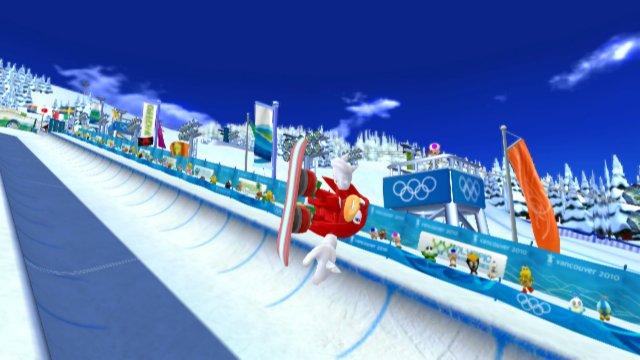 Mario & Sonic at the Olympic Winter Games til Wii
