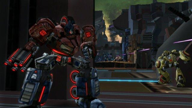 Transformers: War for Cybertron til Wii