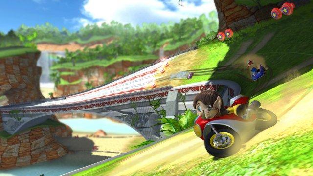 Sonic & Sega All-Stars Racing til Xbox 360