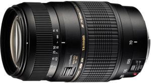 Tamron AF 70-300mm F/4-5.6 Di LD MACRO 1:2 (med fokusmotor) for Nikon