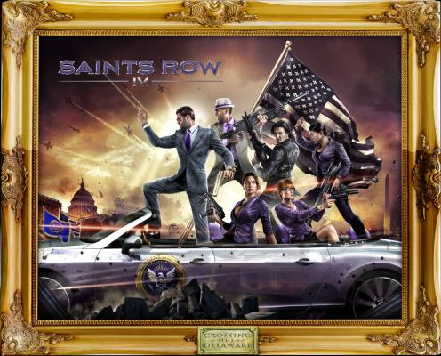 Saints Row: IV: Re-Elected til Playstation 4