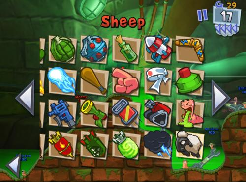 Worms 3 til iPhone