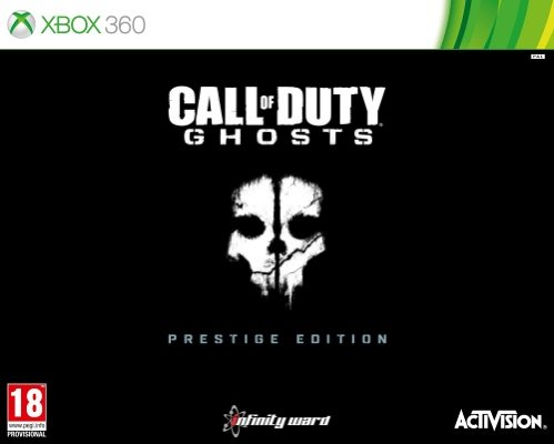Call of Duty: Ghosts Prestige Edition til Xbox 360