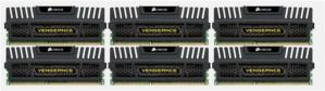 Corsair Vengeance DDR3-1600 24GB CL9 (6x4GB)