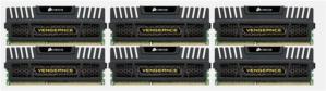 Corsair Vengeance DDR3-1600 24GB CL9 (6x4GB)