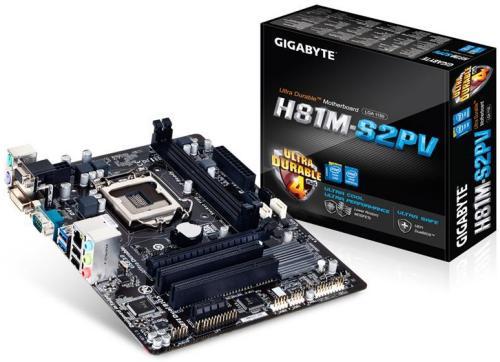 Gigabyte GA-H81M-S2PV