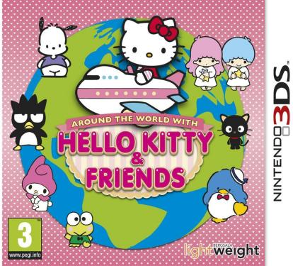 Around The World with Hello Kitty til 3DS