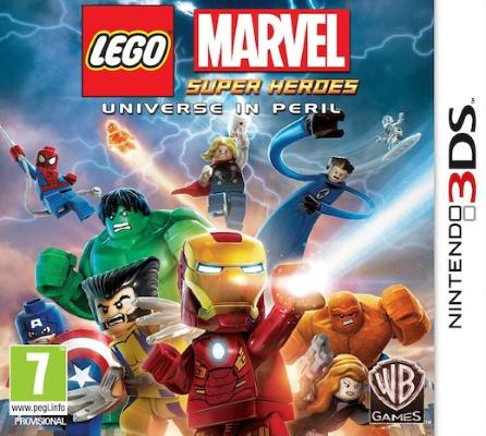 LEGO Marvel Super Heroes til 3DS