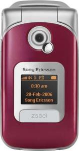 Sony Ericsson Z530i med abonnement