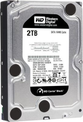 Western Digital Desktop Black 2TB