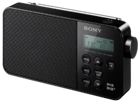 Sony XDR-S40 DAB-radio