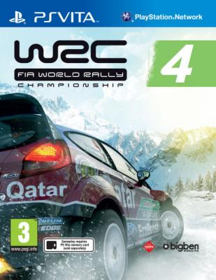 WRC FIA World Rally Championship 4	 til Playstation Vita