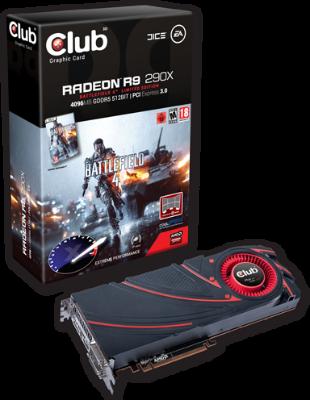 Club3D Radeon R9 290X BF4 4GB