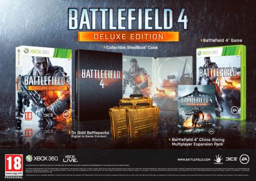 Battlefield 4 Deluxe Edition til Xbox 360