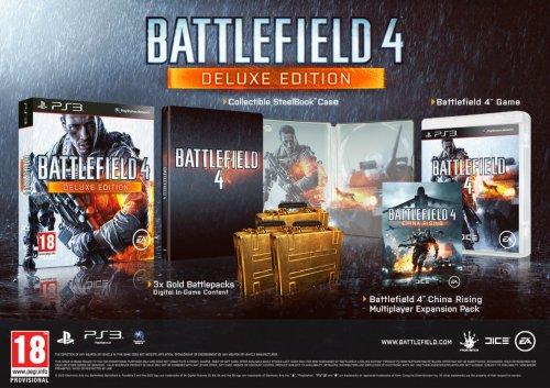 Battlefield 4 Deluxe Edition til PlayStation 3