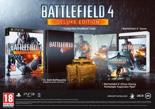 Battlefield 4 Deluxe Edition til PlayStation 3