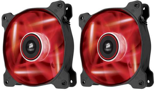 Corsair AF120 Quiet Edition LED 120mm 1500 RPM 2-Pack