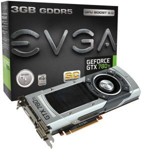 EVGA GeForce GTX 780 Ti SC 3GB