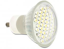 Delock LED GU10 2,5W varm hvit