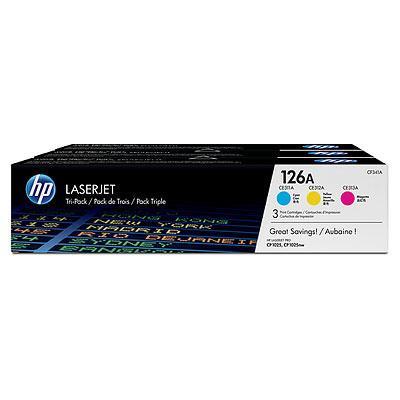 HP 126A  trepakning