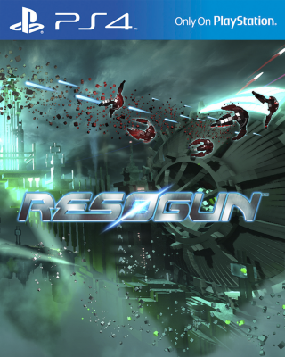 Resogun til Playstation 4